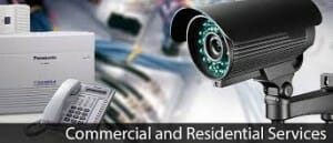 residential commerical security camera systems installations image